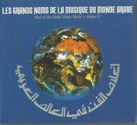 Double Album CD Le Grandi Nomi Della Musique Del Mondo Arabo Vol II 2831