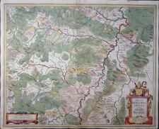 MERCATOR HONDIUS ABBATIA HERESFELDENSIS HESSEN STIFT HIRSCHFELD FULDATAL 1635