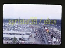 1963 USAC Indianapolis / Indy 500 Pits/Grandstand View - Vintage 35mm Race Slide