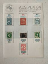1984 Ausipex Stamps and 1974 Stamp Week stamps