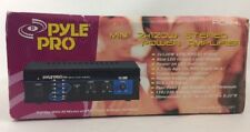 PYLE MINI 2x120W HOUSE HOME STEREO POWER AMP / AMPLIFIER RECEIVER DUAL VOLTAGE