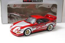 1:18 UT MODELS PORSCHE 911 993 gt2 Street Racing Red chez Premium-modelcars