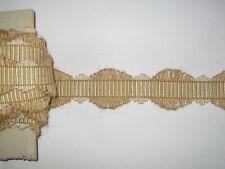 10 METRES DE GALON ANCIEN PASSEMENTERIE DE LYON--FRENCH TRIM--N°OCT42
