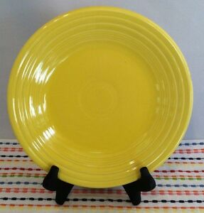 Fiestaware Sunflower Lunch Plate Fiesta Yellow 9 inch Luncheon Plate