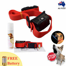 Automatic Humane Citronella Anti Bark Training Spray Dog Collar STOP BARKING