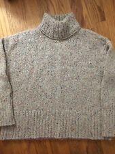 J. CREW NWT Confetti Mockneck Neck Sweater Top, Size L