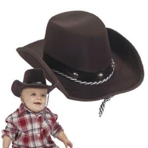 Fun Express Baby Sized Cowboy Western Rodeo Hat, OSFA