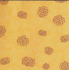 Creative Memories 10x12 ASIAN MIYABI Paper - CABBAGE ROSE - SINGLE SHEET