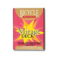 Bicycle Mirage Playing Cards Trick Deck (BLUE) Edition Box by Penguin Magic