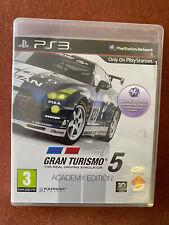 Gran Turismo 5 Academy Edition-Playstation 3-Free UK Post.