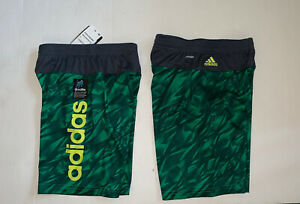 Adidas Boys Climalite Shorts Green NWT size 5 or 7