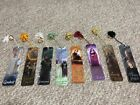 Lord of the Rings Bookmark set of 8 with 7 One Ring Replicas! OOP and rare