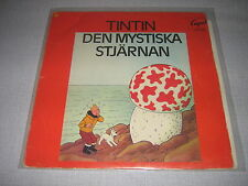 BD TINTIN DEN MYSTISKA STJARNAN 33 TOURS SUEDE