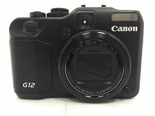 Canon Powershot G12 PC1564 5x Optical Zoom 10MP 2.8