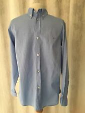 Paul & Shark Yachting Blue 14 Inch 100% cotton Collored Shirt