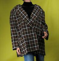 Vintage Stephanie Queller Womens Multicolor Blazer Jacket Size 22W
