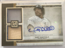 Gary Sheffield 2020 Topps Museum Collection Dual Jersey Relic Auto #/299 Yankees