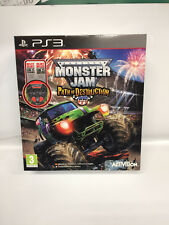 MONSTER JAM PATH OF DESTRUCTION - volante incluso - PS3