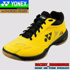NEW MENS YONEX POWER CUSHION SHB65X2 BADMINTON SQUASH INDOOR SHOES YELLOW