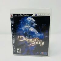 Demon's Souls Sony PlayStation 3 PS3 Game Complete Tested Black Label
