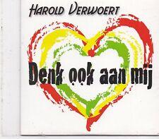 Harold Verwoert-Denk Ook Aan Mij cd single