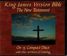 King James Version Audio Bible New Testament on 15 Compact Discs 16+ Hours CD