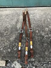 3 Vintage 90s Klein 5441 Lineman Tool Climbing Safety Harness Belt Ironworker