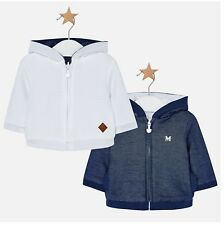 New Mayoral Baby Boy Reversible Hoodie, size 1-2 Months (2439)