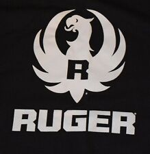 RUGER FIREARMS SHIRT SIZE L RARE TSHIRT GUNS POLICE TACTICAL MILITARY