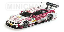 MINICHAMPS 410 132216 BMW M3 diecast model race car Andy Priaulx DTM 2013 1:43rd