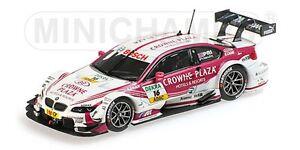 MINICHAMPS 410 132216 BMW M3 diecast model race car Andy Priaulx DTM 2013 1:43rd