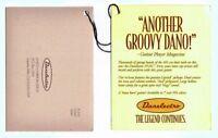 Danelctro Warranty & Swing Tag, 1998, Good Condition