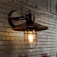 Wall Sconce Lampshade Vintage Industrial Fixture Outdoor Hanging Lamp