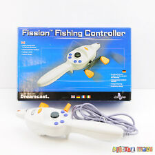 Sega Fission Rod Controller EXCELLENT Sega Dreamcast Game PAL Bass Fishing