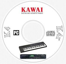 Kawai K4 / K4r Synth Sound / Patch Library, Manual, MIDI Software & Editors CD