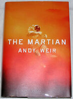 Andy Weir, SIGNED The Martian, Hardcover, 1st Edition, Later Print, BRAND NEW