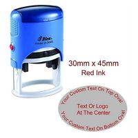 Details about  /Printtoo Rubber Stamp Upto 2 Lines Of Custom Text Self Inking Personalized-o81