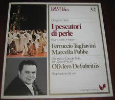 """I Gioielli Della Lirica Lp """" I PESCATORI DI PERLE """" Longanesi Periodici n° 32"""