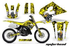 Suzuki RM 125  Graphics Kit AMR Racing Bike Decal RM125 Sticker Part 93-95 MHY