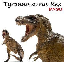 "PNSO Tyrannosaurus Rex Dinosaurs rare scientific art realistic 13"" model figure"