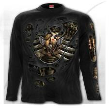 Spiral Direct Steam Punk Reaper Longsleeve T-shirt Black|reaper|steampunk L