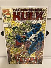 The Incredible Hulk vs Venom #1 NM+/M Embossed Red Foil Marvel Comics 1994