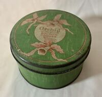 A Vintage Dusting Powder Tin- ORCHID OF THE INDIES