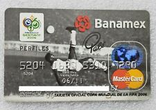MEXICO - BANAMEX BANK EXPIRED CREDIT CARD - FIFA WORLD CUP GERMANY 2006 - PELÉ
