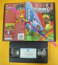 VHS film KIRIKU'E LA STREGA KARABA' Pivetti animazione ALFADEDIS (F123*) no dvd