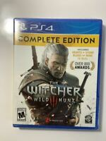 The Witcher 3 : Wild Hunt  Complete Edition - Playstation 4 /PS4