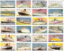 Ships/Boats Post-War Cigarette Cards (1945-Now)