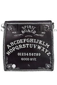 Nemesis Now Goth Spirit Board Ouija Board Embossed Crossbody Purse Unisex