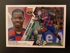 2019-20 Panini Este Ansu Fati Rookie RC #13 Barcelona