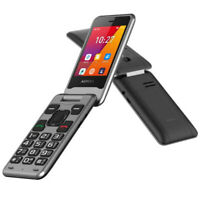 Aspera F42 Flip Seniors 4G + 3G Phone Big Button 2020 MODEL Unlocked Elderly